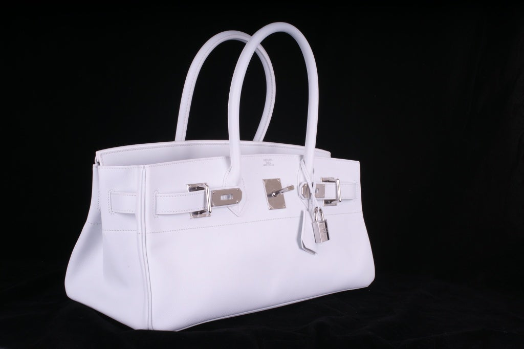hermes birkin bags for sale - Hermes Birkin Bag Jpg Shoulder White 42Cm Epsom Pl JaneFinds at ...