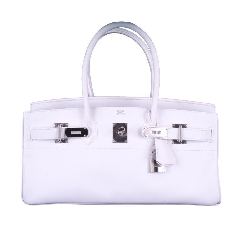 Hermes Birkin Bag Jpg Shoulder White 42Cm Epsom Pl JaneFinds at ...