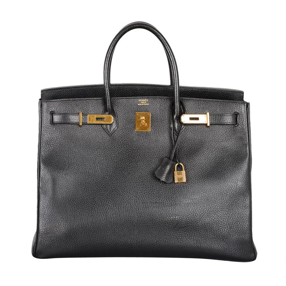 cheap hermes bags uk - Hermes 40cm Gold Ardennes Birkin Bag with Gold Hardware