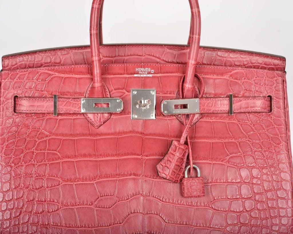 knock off croc brands - pink crocodile birkin bag