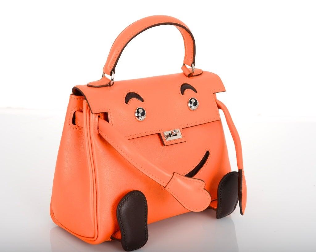 original birkin bag - SUPERFIND HERMES KELLY DOLL IDOLE ORANGE SPECIAL LIMITED EDITION ...