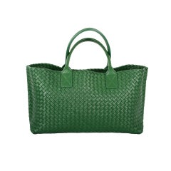 NEW LIMITED EDITION COLOR BOTTEGA VENETA CABAT TOTE IRISH GREEN