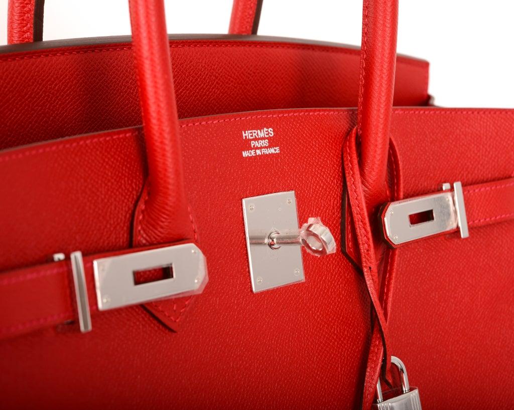 red birkin bag