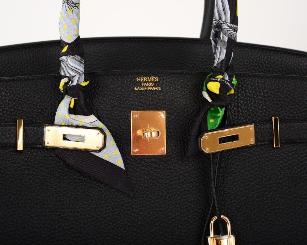 bag knockoffs - hermes black togo birkin 35cm palladium hardware, hermes birkin fake