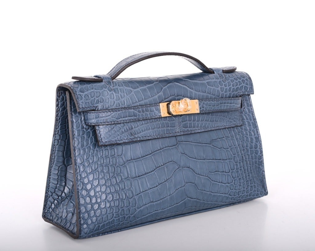 Hermes Very Special Alligator Kelly Pochette image 2