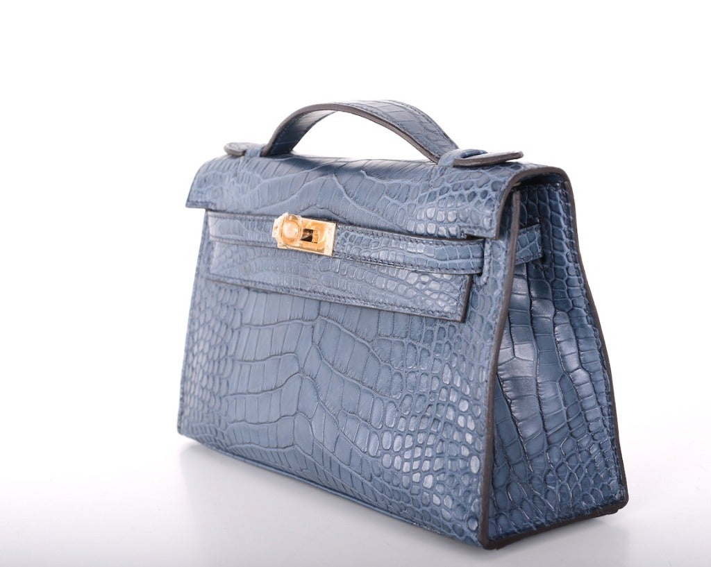 Hermes Very Special Alligator Kelly Pochette image 3