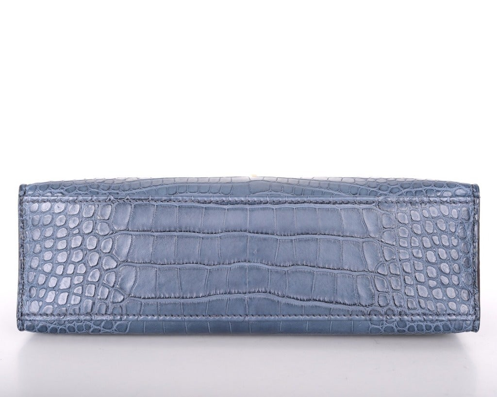 Hermes Very Special Alligator Kelly Pochette image 5