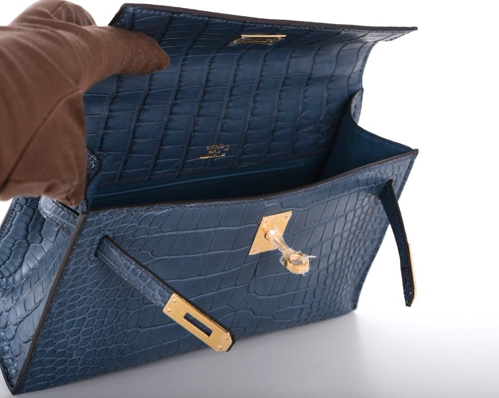 Hermes Very Special Alligator Kelly Pochette image 7