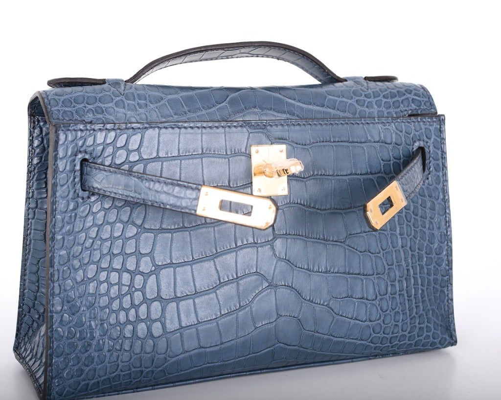 Hermes Very Special Alligator Kelly Pochette image 8