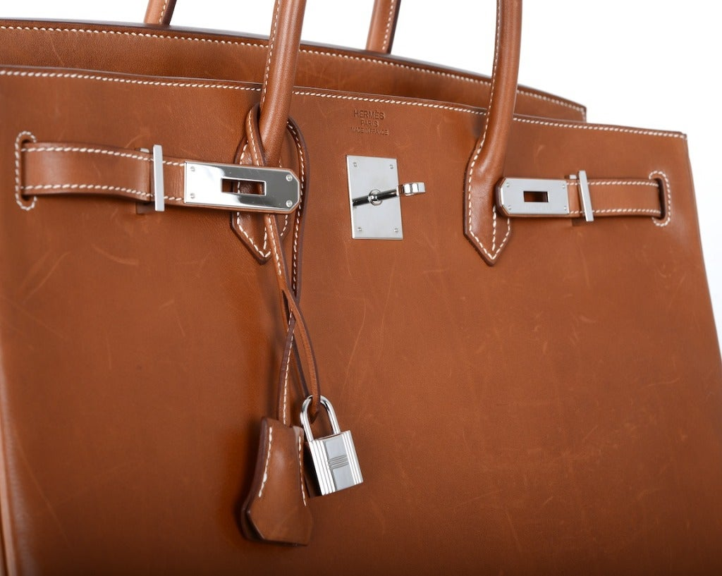 Urban Legend\u0026quot; Hermes Birkin Bag 40cm Natural Barenia PHW The Best ...