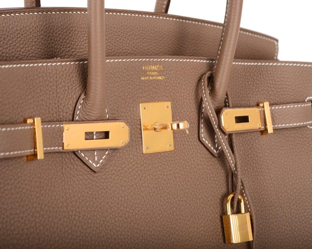 hermes bag price - hermes birkin bag 35cm etoupe togo gold hardware, hermes travel bag