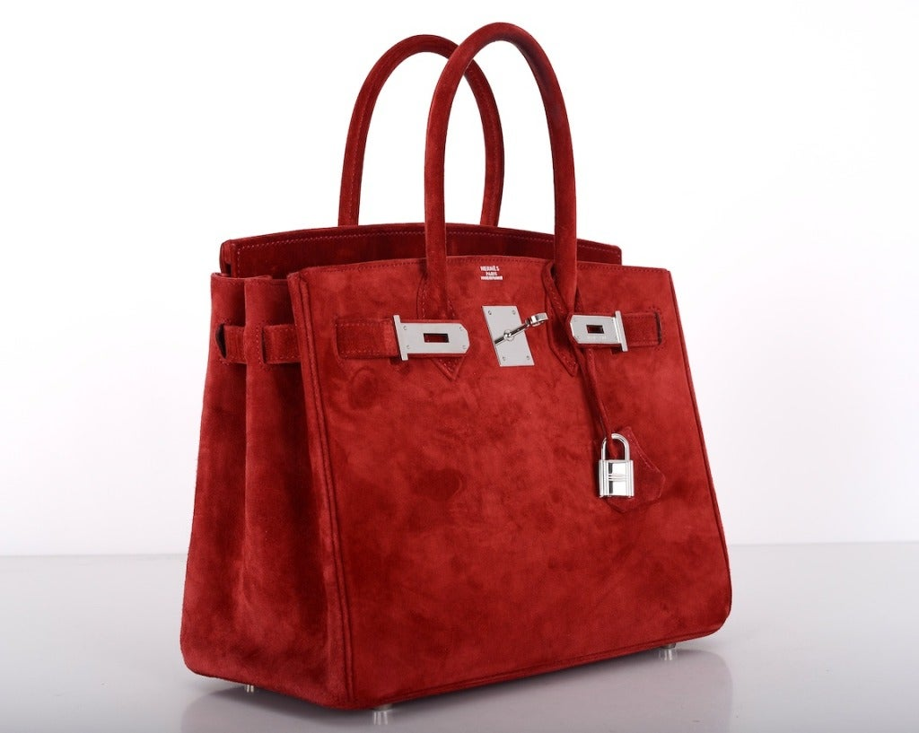 hermes birkin red