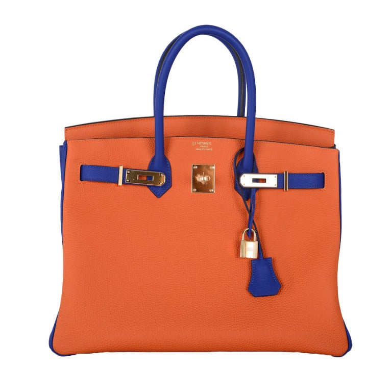 hermes bag orange