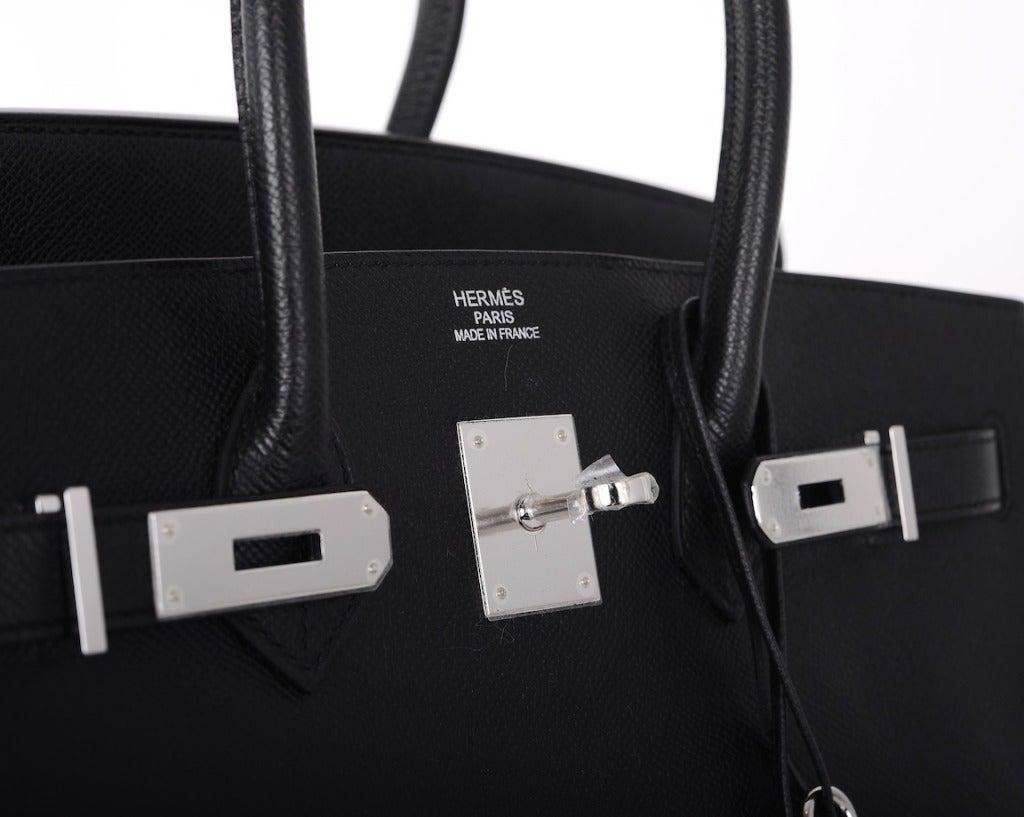 Black Hermes Birkin Bag Hermes Birkin Bag Black 35cm
