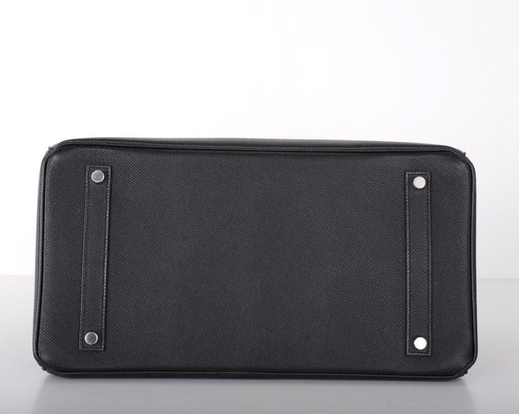 fake birkin bag - AMAZING COMBO! Hermes Birkin Bag BLACK 35CM EPSOM LEATHER PHW For ...