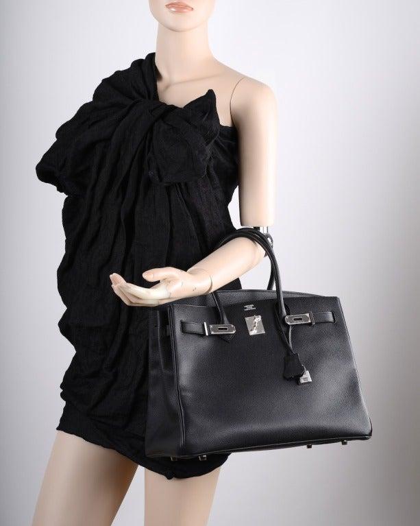 black hermes bag