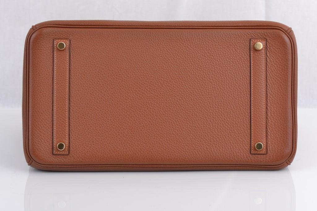 Hermes Birkin 35cm Marron D'inde With Gold Hardware image 6