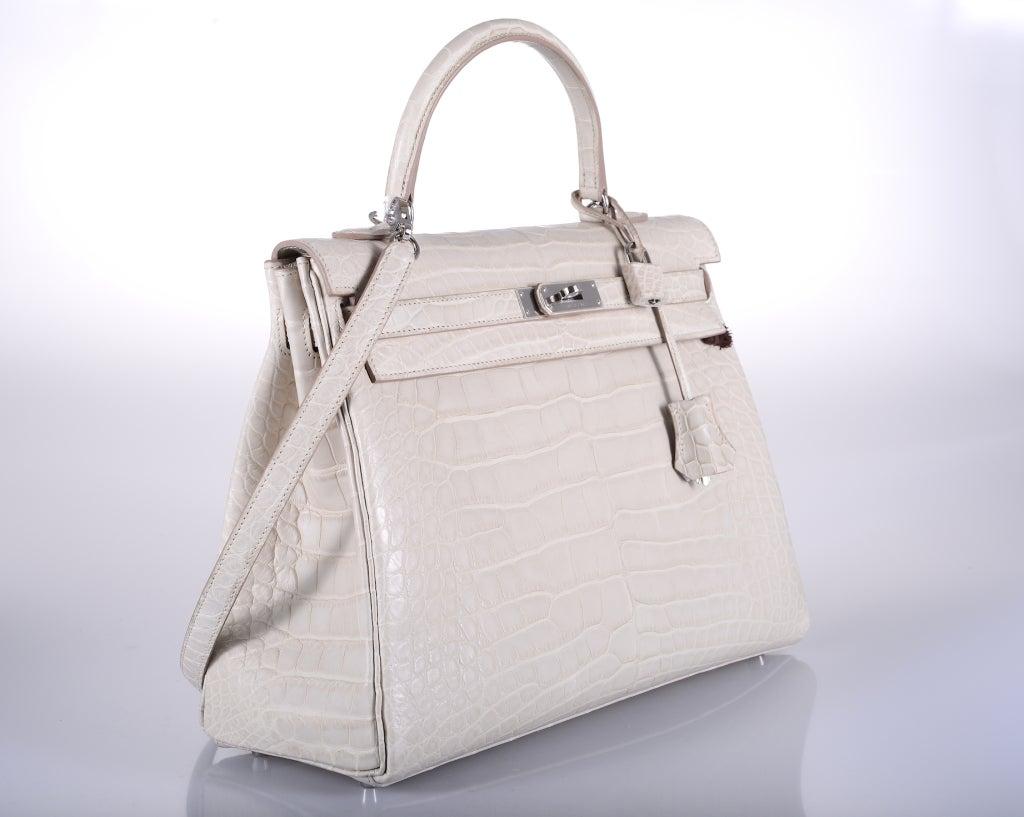tan handbags - hermes beton matte porosus crocodile birkin bag with gold hardware