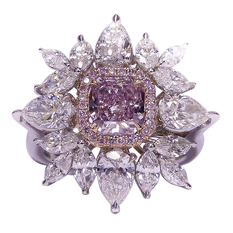 Image result for Pink to purple Diamond