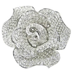 Faboulous Floral Diamond Ring