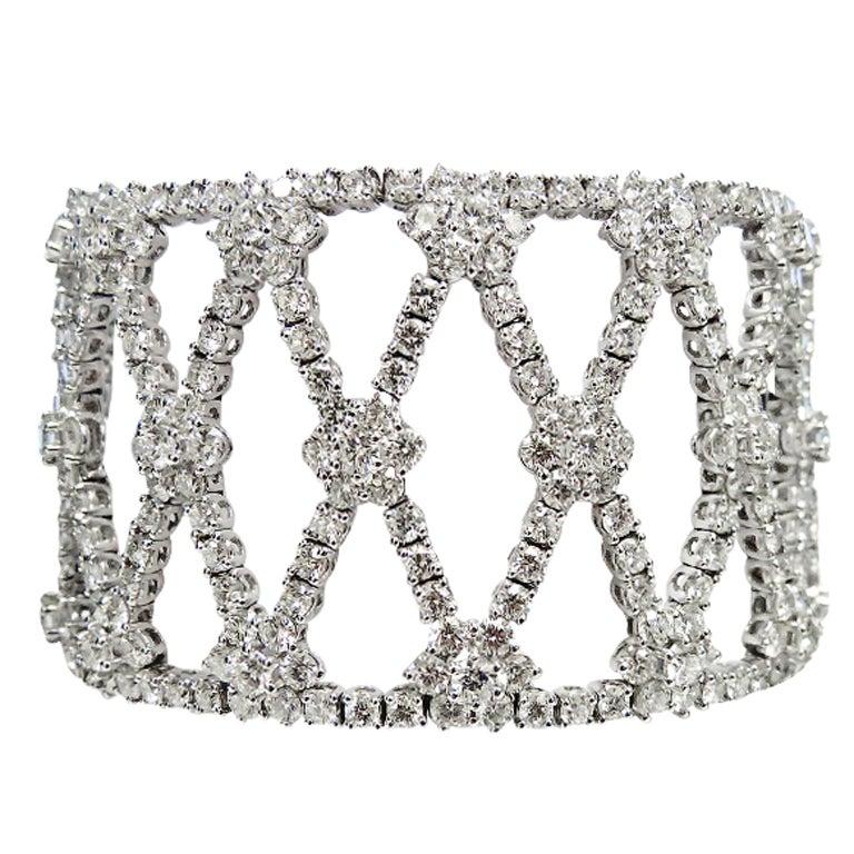 Dazzlingly Beautiful Diamond Bracelet