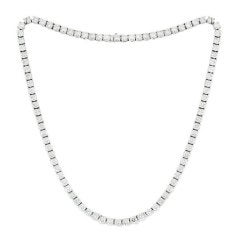 Ideal Diamond Tennis Necklace
