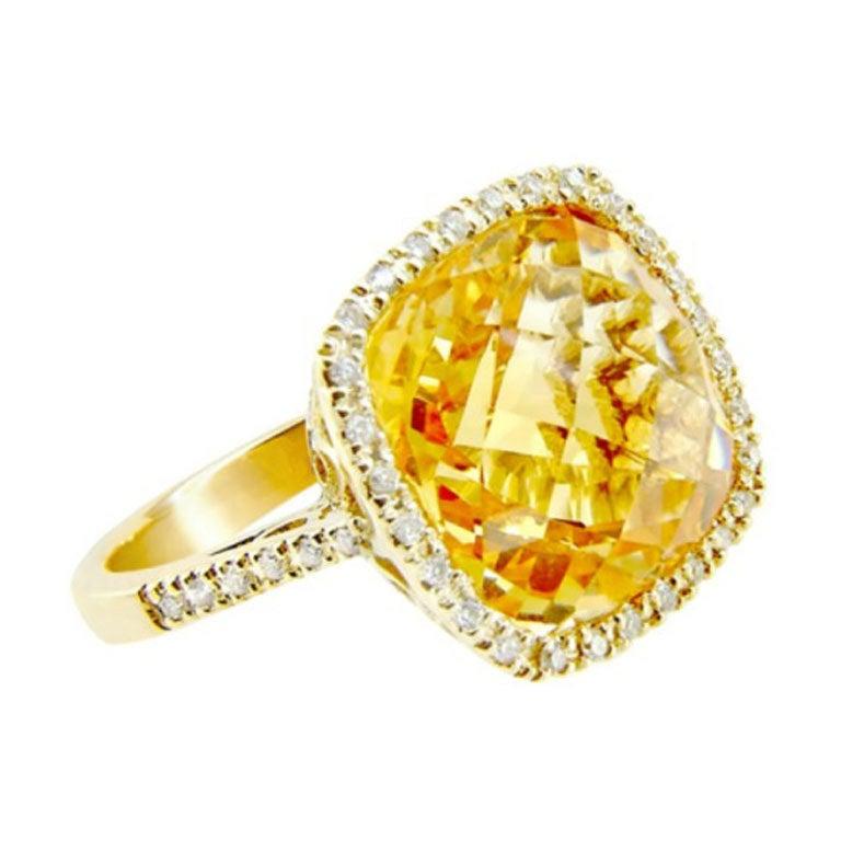 Stdibs Jewelry Citrine Garnet Ring