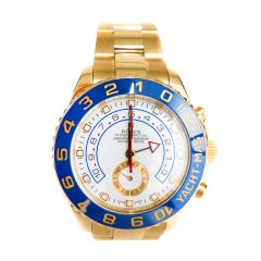 Rolex Yellow Gold Oyster Perpetual Yacht-Master II Wristwatch