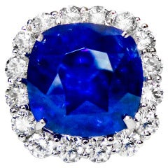 An Incredible 37.48 Carat  Ceylon Sapphire Ring