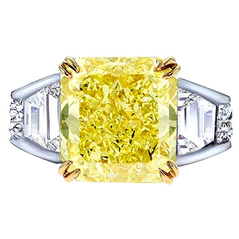 Exclusive Liaison 10.26 Fancy Yellow Diamond Ring 1