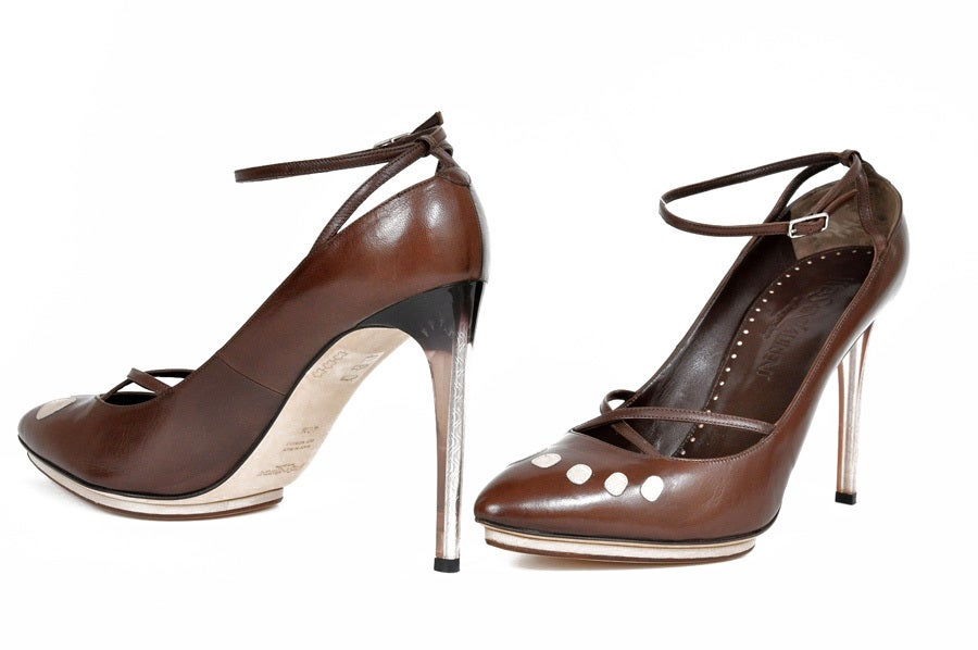 Tom Ford for Yves Saint Laurent platform shoes, S / S 2003 In New Condition For Sale In Montgomery, TX