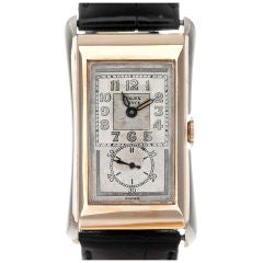 """ROLEX White & Yellow Gold 1930's Prince """"Doctor's Watch"""""""