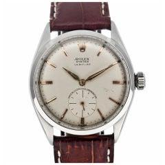 """ROLEX 1950's Thinest Oyster Case """"Veriflat"""" Wristwatch"""