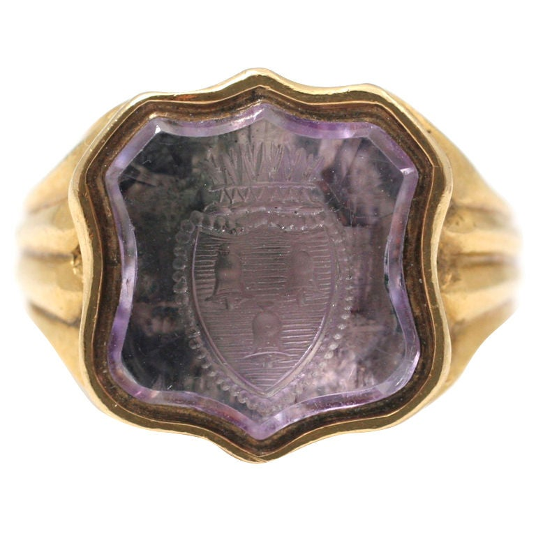 amethyst ring vintage - photo #5