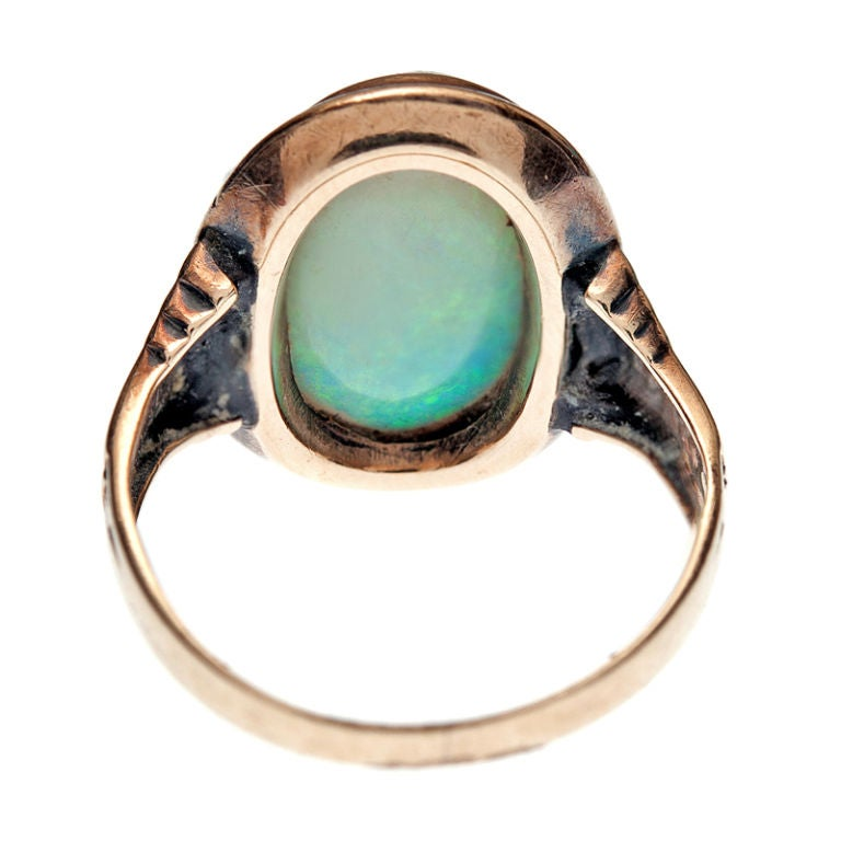 antique opal and gold ring at 1stdibs