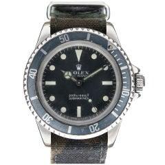 "ROLEX ""UDT 11"" ""Meters First"" ref #5513 Military Submariner"