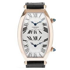 CARTIER Limited Edition c2005 Rose Gold & Sapphire