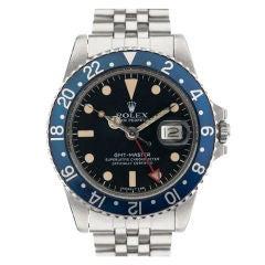 ROLEX All Blue Bezel 1960's GMT-MASTER