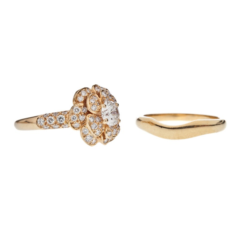 chanel diamond ring engagement set at 1stdibs