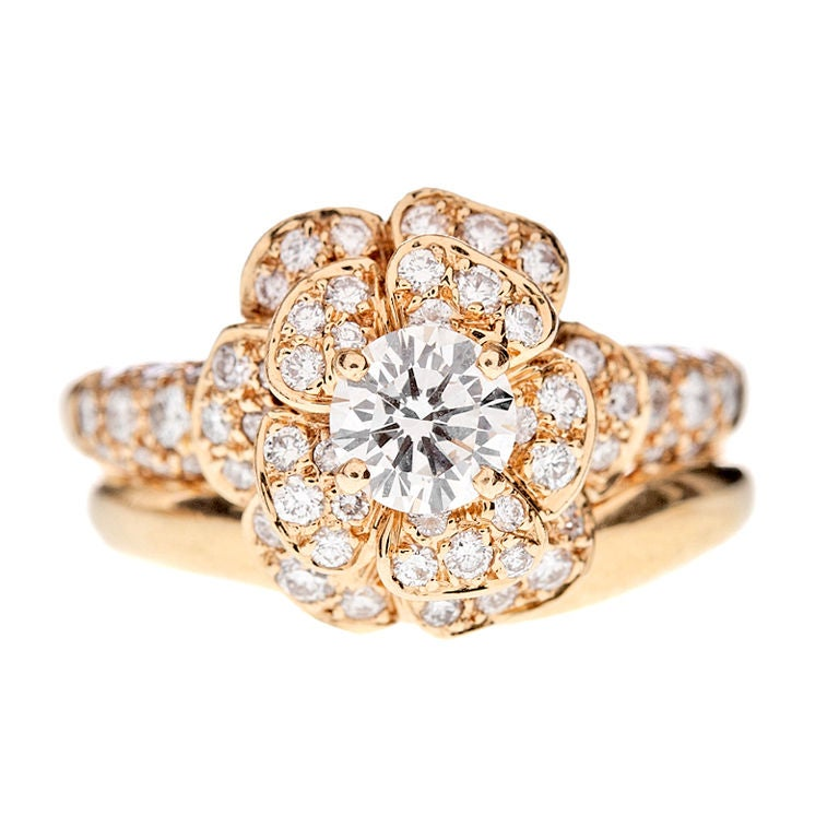 CHANEL Diamond Ring Engagement Set For Sale