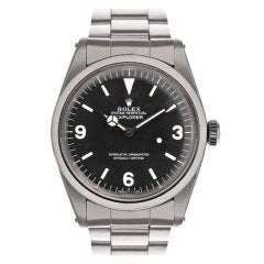 ROLEX 1950's All-Original Explorer Wristwatch