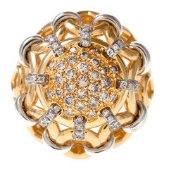 Oro Trend Diamond Gold Ring