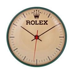 ROLEX 1960s Plug-In Wall Clock
