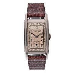 ROLEX Marconi 1930's Steel Wristwatch