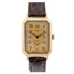 ROLEX 1930s Rare Art Deco Octagonal Wristwatch