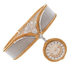 ROLEX 1960's Ladies Bracelet Watch Sold by 'Serpico y Laino'