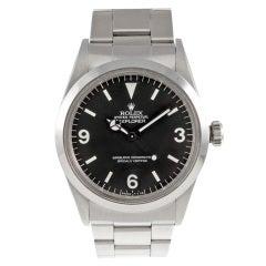 ROLEX 1970s All-Original Explorer Wristwatch