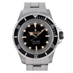 """ROLEX Stainless Steel """"PCG"""" Ref 5512 with Two-Color Gilt DIal with Track Ring"""