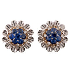 Aletto Bros Gorgeous Sapphire and Diamond Earrings