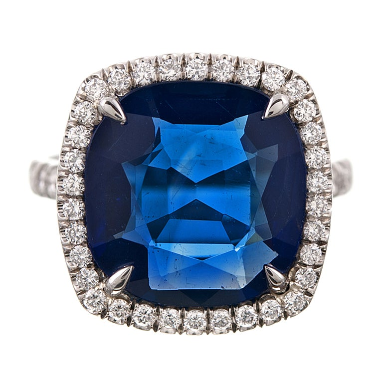 Classic Pear Shaped Diamond Engagement Ring in   Blue Nile